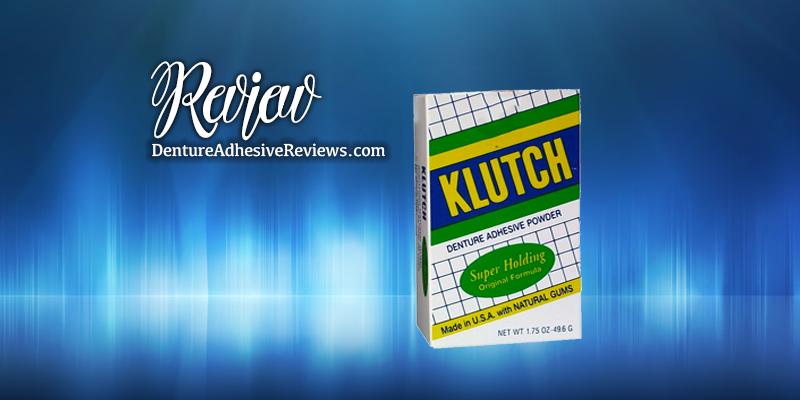 Klutch Denture Powder Review