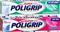 Super Poligrip Denture Adhesive