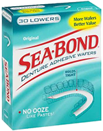 Seabond Denture Adhesive Wafers