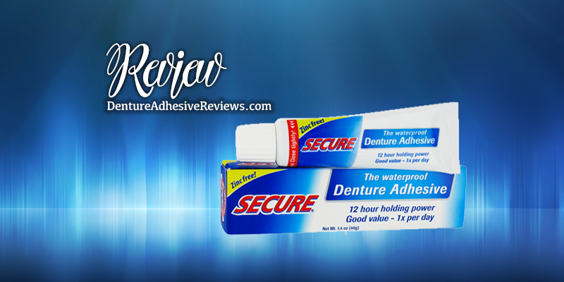 DenTek Secure Denture Adhesive Review