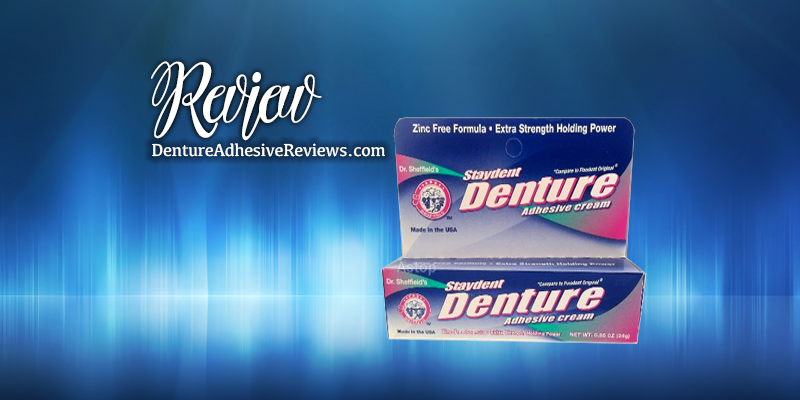 Staydent Denture Adhesive Review