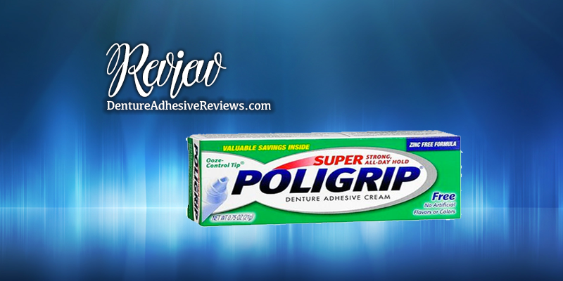 Polident Coupon and Super Poligrip Review